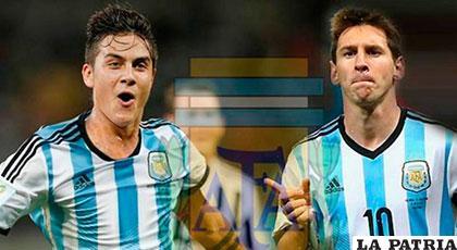 Paulo Dybala y Lionel Messi, fueron convocados al seleccionado argentino