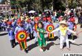 Los niños demostraron su fervor patriótico en el aniversario 192 de la fundación de Bolivia