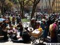 Ciudadanos expresaron su molestia porque no se respeta este espacio cívico