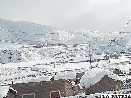 Reportan probabilidad de nevadas leves a moderadas /SEDAG