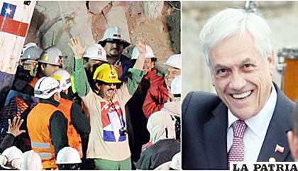 Sebastián Piñera, presidente de Chile, recordó el accidente de los 33 mineros / elcomercio.pe