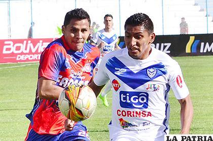 Jorge Ayala y Didí Torrico, considerados titulares en sus planteles