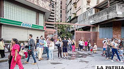 Sismo de 5.7 sacudió Venezuela la mañana de este miércoles