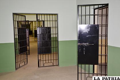 Imegen de las celdas del nuevo recinto penitenciario