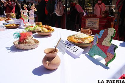 Feria Gastronómica mostró la riqueza de Bolivia /LA PATRIA /TANIA SANTIVÁ�?EZ