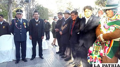 Ritual andino contó con la presencia de autoridades departamentales y municipales /LA PATRIA