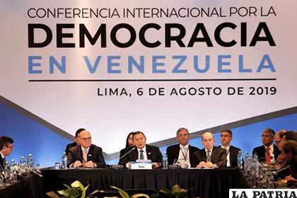 Líderes de varios países debaten sobre la situación venezolana /EFE