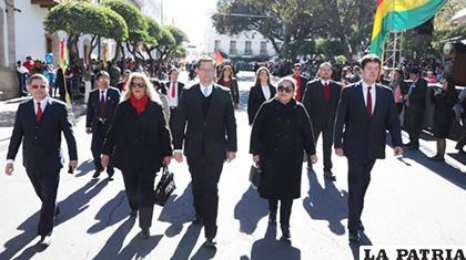 Ortiz calificó el discurso de Morales ante la Asamblea Legislativa Plurinacional, como de campaña política /BDN