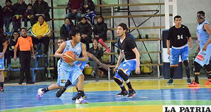 Jheral Sanjinez fue un buen aporte para CAN en el encuentro /LA PATRIA - Reynaldo Bellota