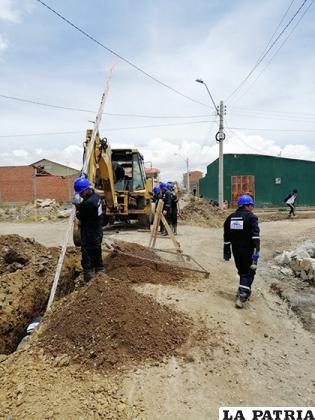 Después de varios meses se retomarán las obras del alcantarillado fase 4 /LA PATRIA /ARCHIVO