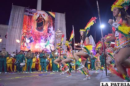 Carnaval de Oruro 2020 será promocionado en La Paz /LA PATRIA /ARCHIVO