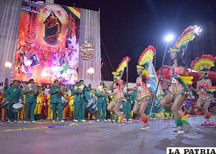 Promoción del Carnaval de Oruro 2020 en la Avenida Cívica /LA PATRIA /ARCHIVO