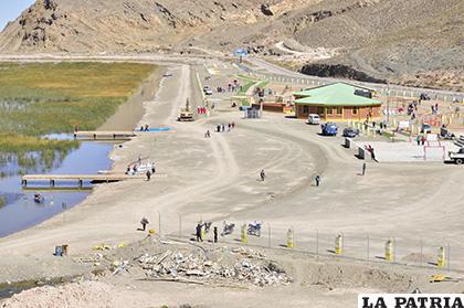 Un sector afectado es el Parque Acuático que El Choro considera como su jurisdicción /LA PATRIA /ARCHIVO