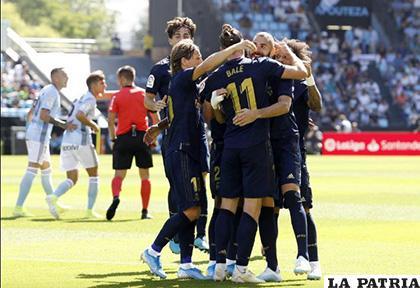 Real Madrid comenzó con un holgado triunfo ante el Celta /as.com