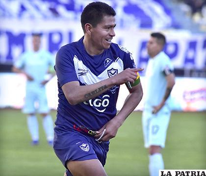 Carlos Saucedo espera seguir subiendo en la tabla de goleadores