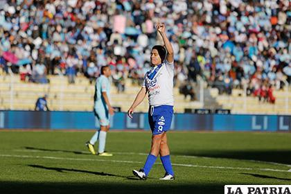 Carlos Saucedo ahora es el goleador del certamen con siete dianas /marka-registrada