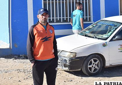 El entrenador Miguel Ponce tiene la esperanza que hoy se solucione todo para reanudar los entrenamientos