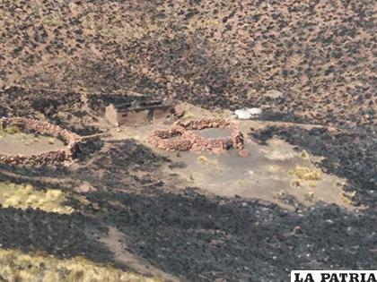 120 hectáreas fueron afectadas por incendios en Caracollo /Gad-Oru (UGR)