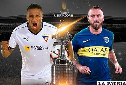 Liga frente a Boca un partido de pronóstico reservado /golecuador.ec