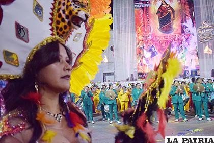 Promoción del Carnaval de Oruro se cumplirá en varias ciudades /LA PATRIA /ARCHIVO