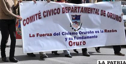 En la gestión 2017-2019 hubo dos comités cívicos paralelos /LA PATRIA /ARCHIVO