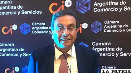 Rolando Kempff, presidente de la Cámara Nacional de Comercio /ANF