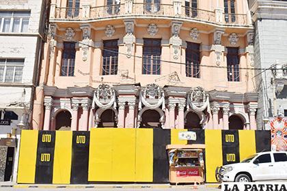 UTO aún no tiene Derecho Propietario del Teatro Palais Concert /LA PATRIA /Reynaldo Bellota