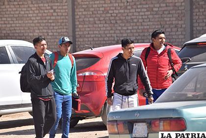 Los jugadores se presentaron en el lugar de entrenamiento luego se fueron /LA PATRIA /Reynaldo Bellota