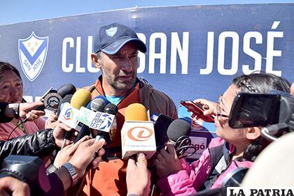 Ponce asegura que el partido del sábado será bastante complicado /LA PATRIA /Reynaldo Bellota
