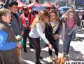 Autoridades entregaron mesa para bienestar de Oruro /CONCEJO MUNICIPAL