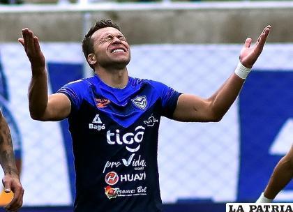 Vargas al igual que el resto de sus compañeros clama porque retorne el fútbol /APG