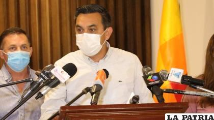La determinación fue hecha a conocer por el ministro de la Presidencia, Yerko Núñez /ABI