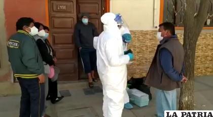 Las brigadas están visitando viviendas en la zona Sureste de la ciudad /LA PATRIA