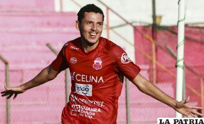 Luis Hurtado, jugador del Guabirá /APG