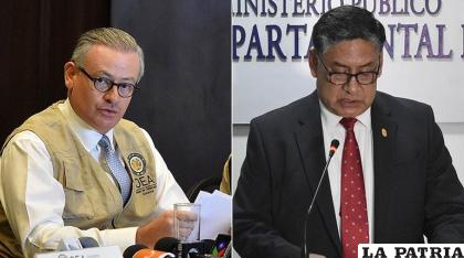 El informe de la OEA se puso en duda con la pericia que la Fiscalía hizo tras contratar una entidad de España /LOS TIEMPOS