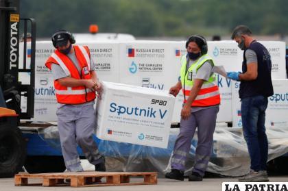 Lotes de vacunas Sputnik-V /EL PAÍS