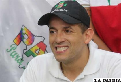El gobernador de Santa Cruz, Luis Fernando Camacho / ARCHIVO