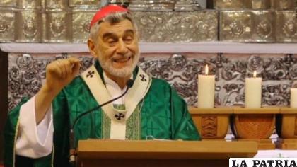El arzobispo de Santa Cruz, monseñor Sergio Gualberti /ANF