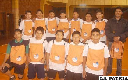 Jugadores de la selección de Oruro