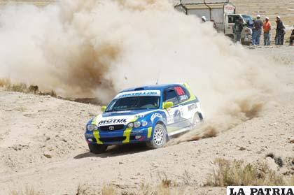 El coche de Lionel Castellón