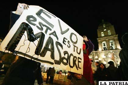 Instituciones reaccionan ante acciones violentas contra marcha en defensa del  Tipnis
