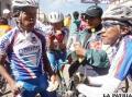 Los Hermanos Checa grandes animadores del ciclismo