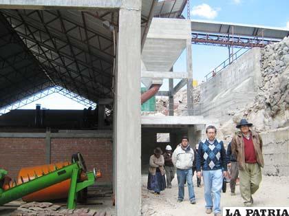 Autoridades visitaron planta para la obtención de azufre en Capurata