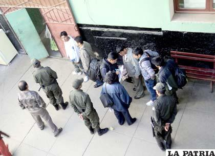 Parte de los indultados que fueron liberados
