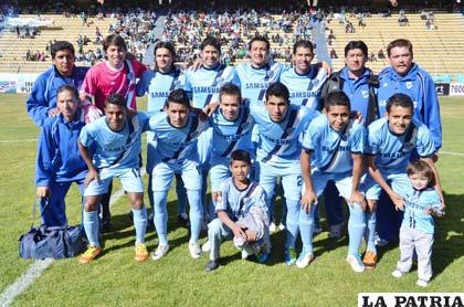 Bolívar viene con el objetivo de recuperarse en el torneo (foto: APG)