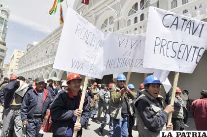 Marcha de la Central Obrera Departamental