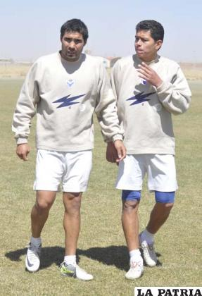 García y Saucedo jugadores de San José
