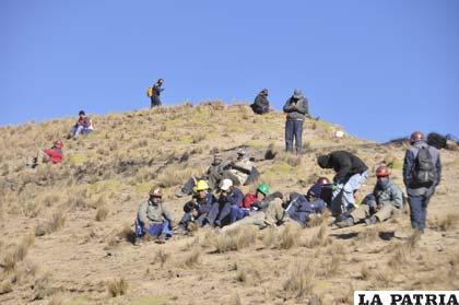 Mineros asalariados están al apronte ante cualquier enfrentamiento