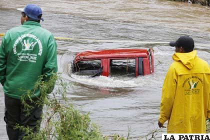 Intensa lluvia en Santa Cruz generó emergencias (APG)