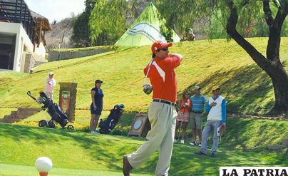 Antonio Beltrán, campeón nacional de golf